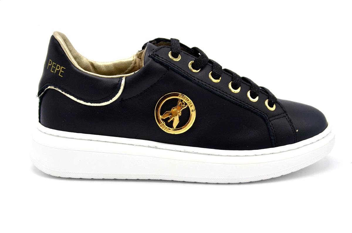 Sneaker con logo