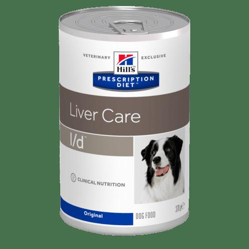 Hill's - Prescription Diet Canine - l/d - 370g x 12 lattine