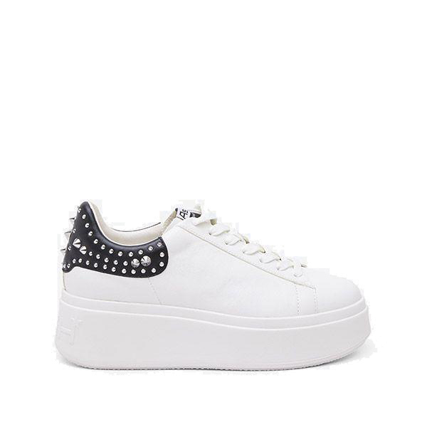 Sneakers Mobystuds nappa white - ASH