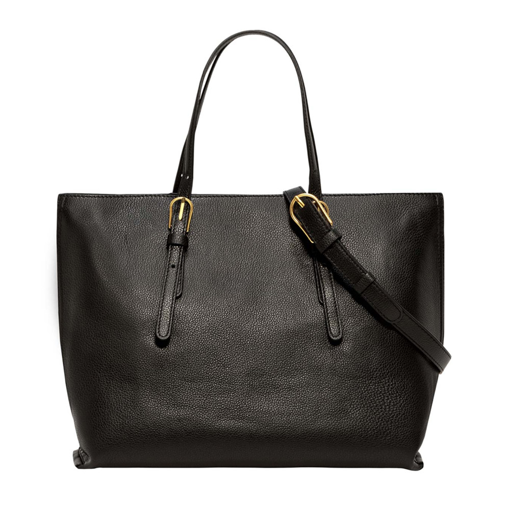 Shopping bag Patricia nera - GIANNI CHIARINI