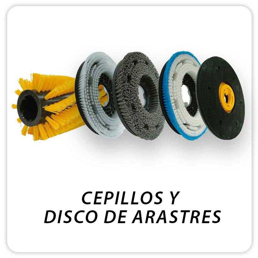 CEPILLOS Y DISCO DE ARASTRES
