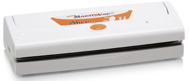 Magic Vac Alice strumento per sottovuoto Bianco 800 mbar