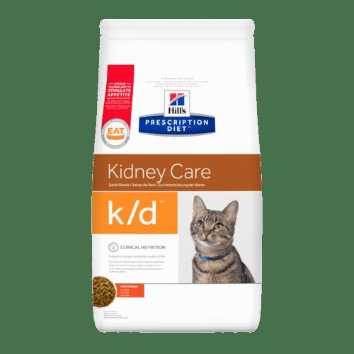 Hill's - Prescription Diet Feline - k/d Pollo  - 5 kg