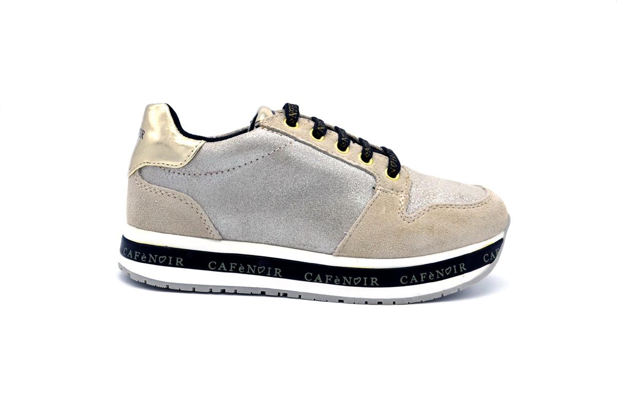 Sneaker tessuto glitter