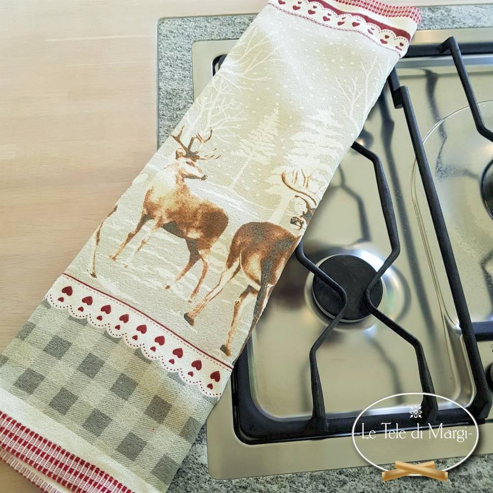 Canovacci cucina spugna Cervi