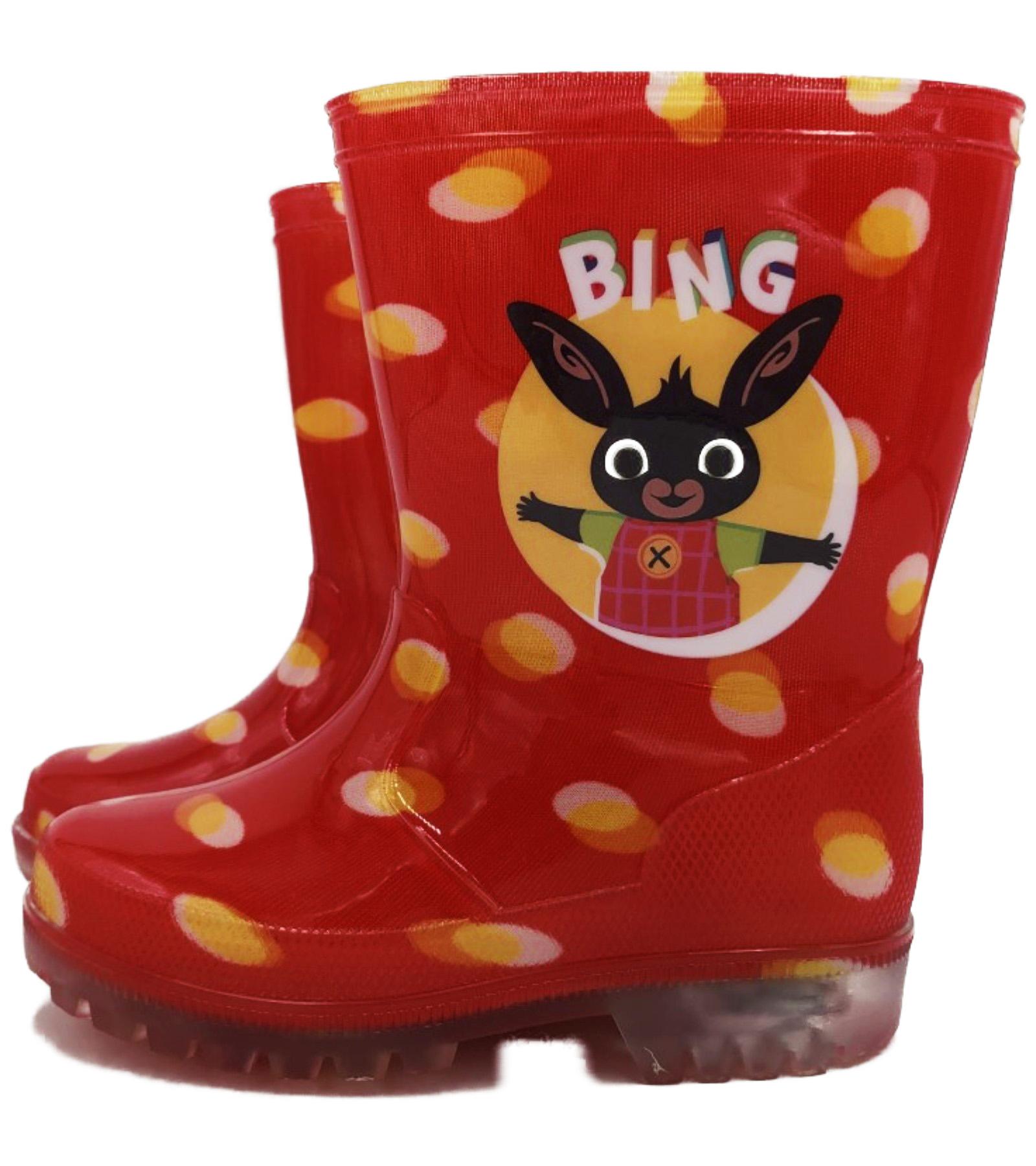 Stivali Pioggia con luci Bing Misure dal 23 al 33