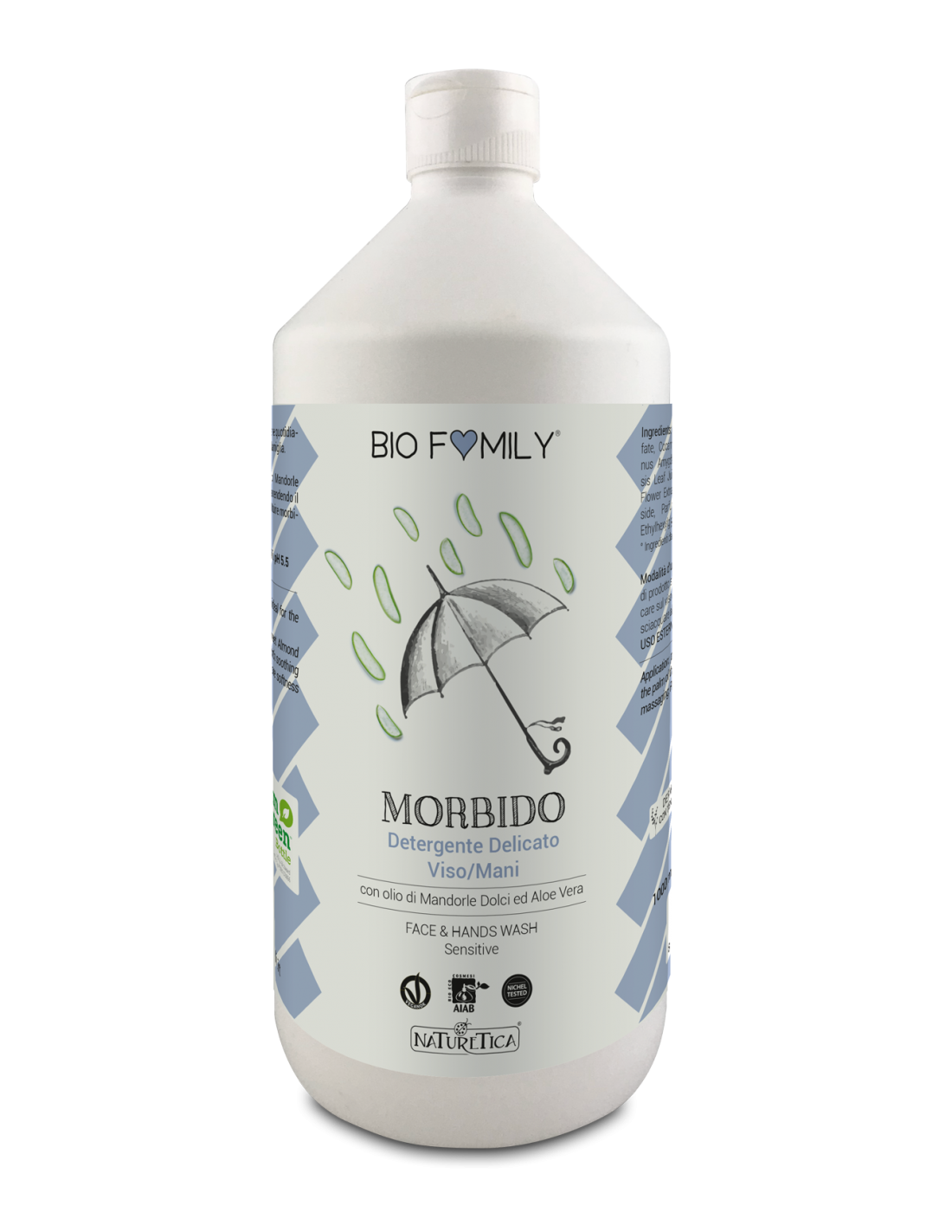 BioFamily Detergente Morbido Viso e Mani