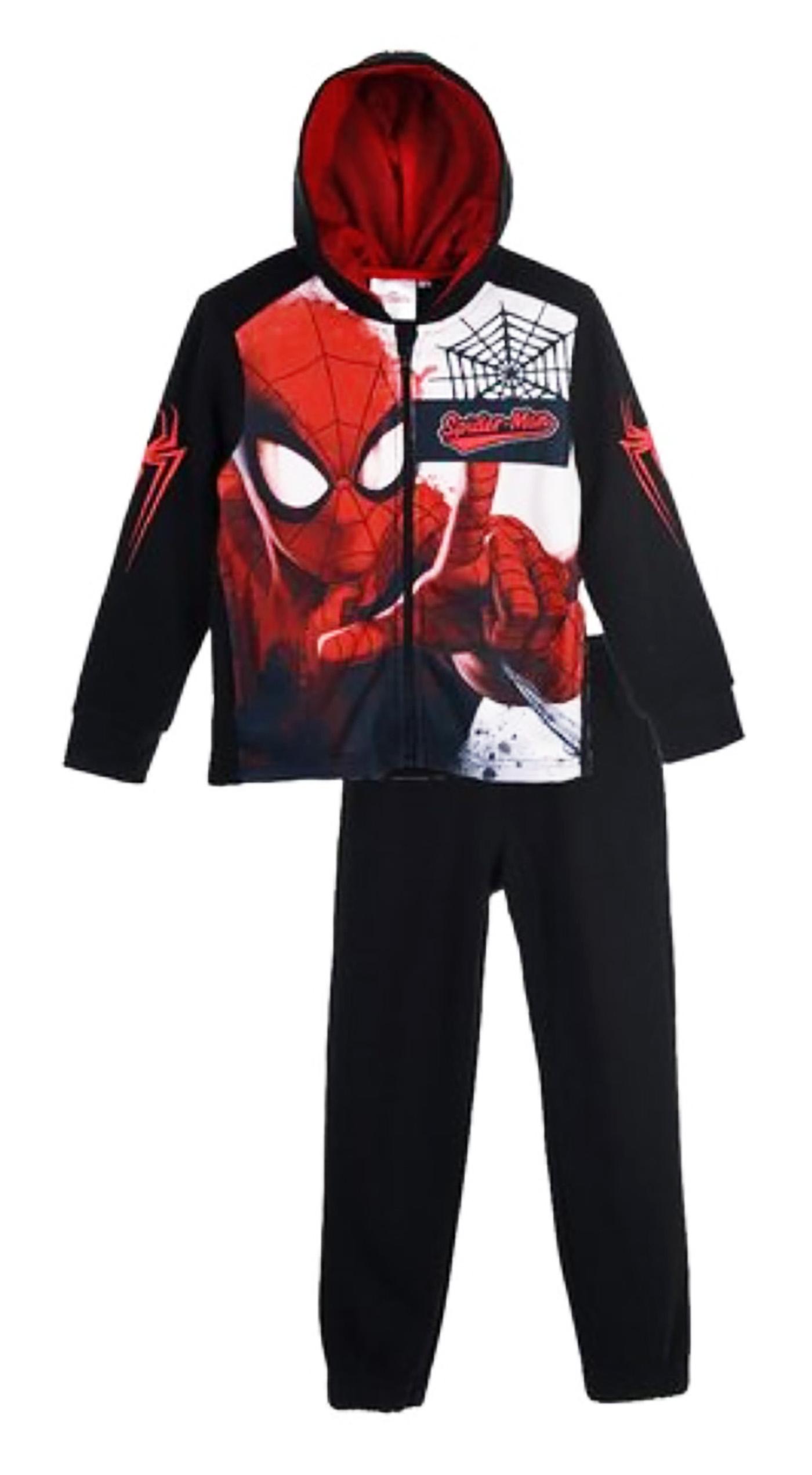 Tuta Spiderman Misura da 3 a 8 Anni Inverno 2021