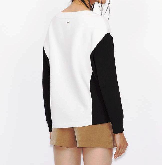 Maglione donna ARMANI EXCHANGE bicolore