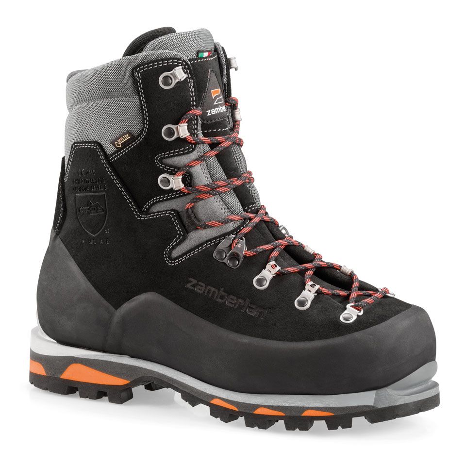 5011 LOGGER PRO GTX RR S3     -    Men's ISO Certified Mountain Logging Boots    -    Black