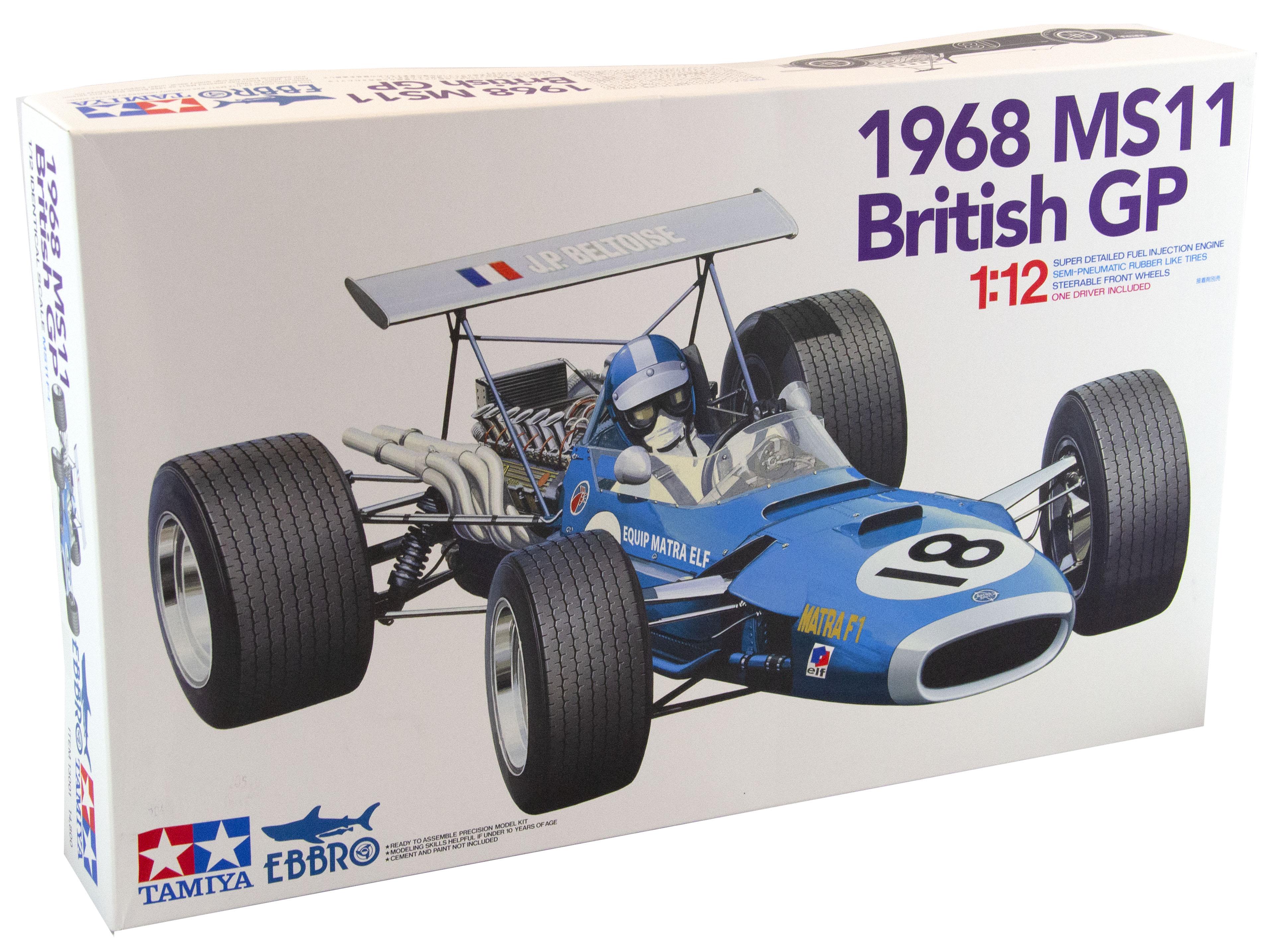 KIT F1 MANTRA MS11 BRITISH GP 1968 - 1/12