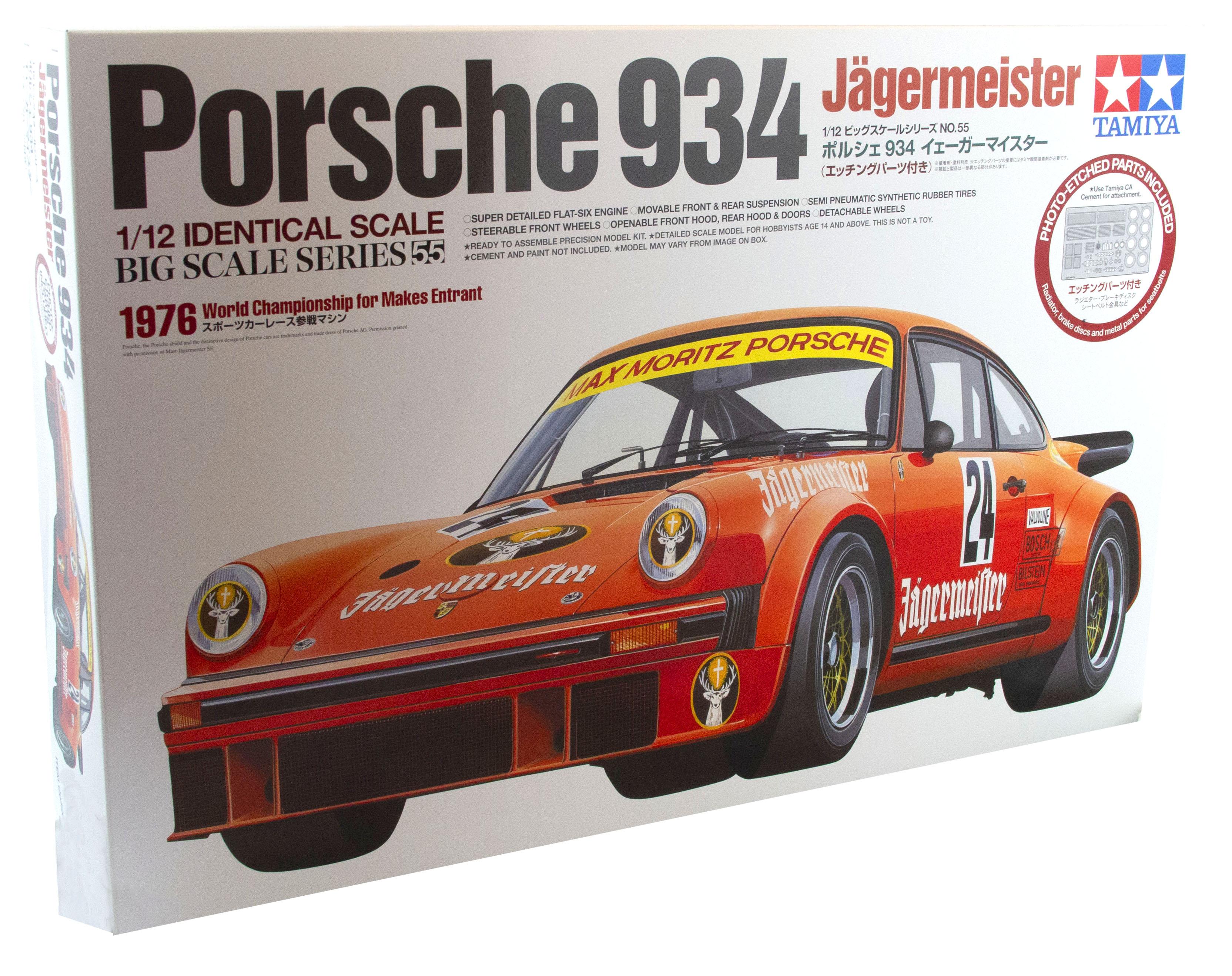 Kit Porsche 934 Jaegermeister 1976 World Championship For Makes Entrant 1/12
