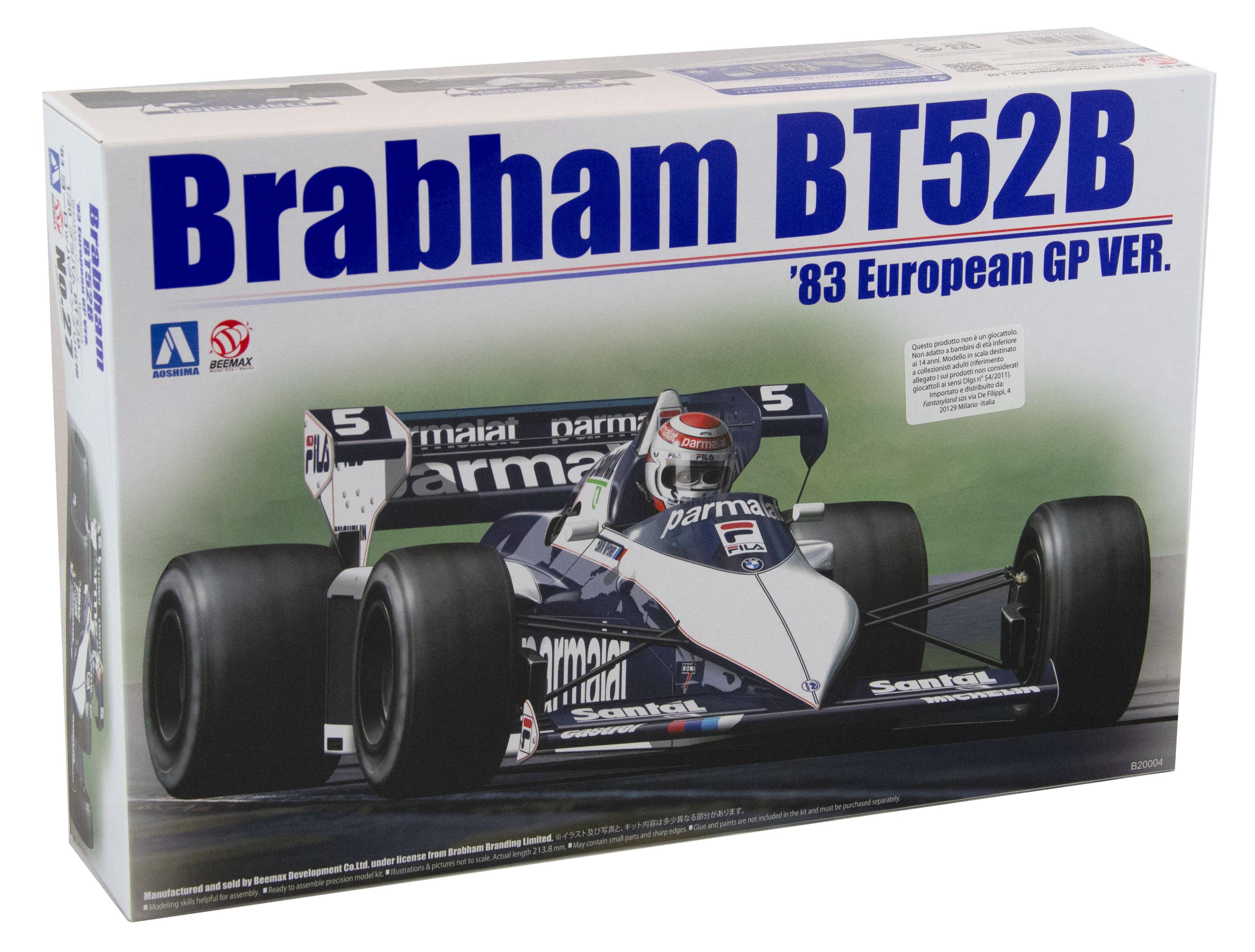 Kit Brabham Bt52b Gp Monza 1983 1/20