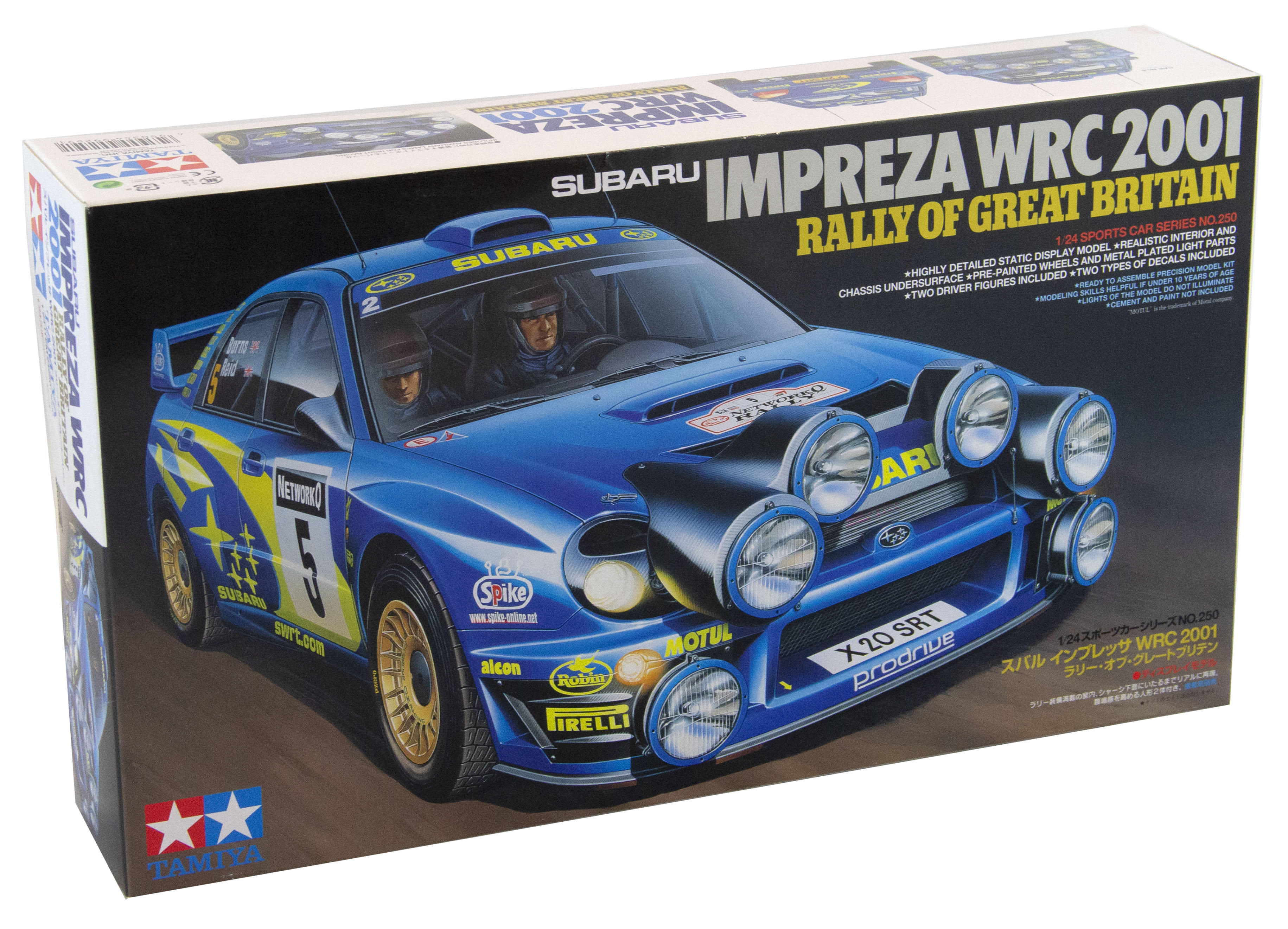 Kit Subaru Impreza Wrc 2001 Rally Of Great Britain 1/24