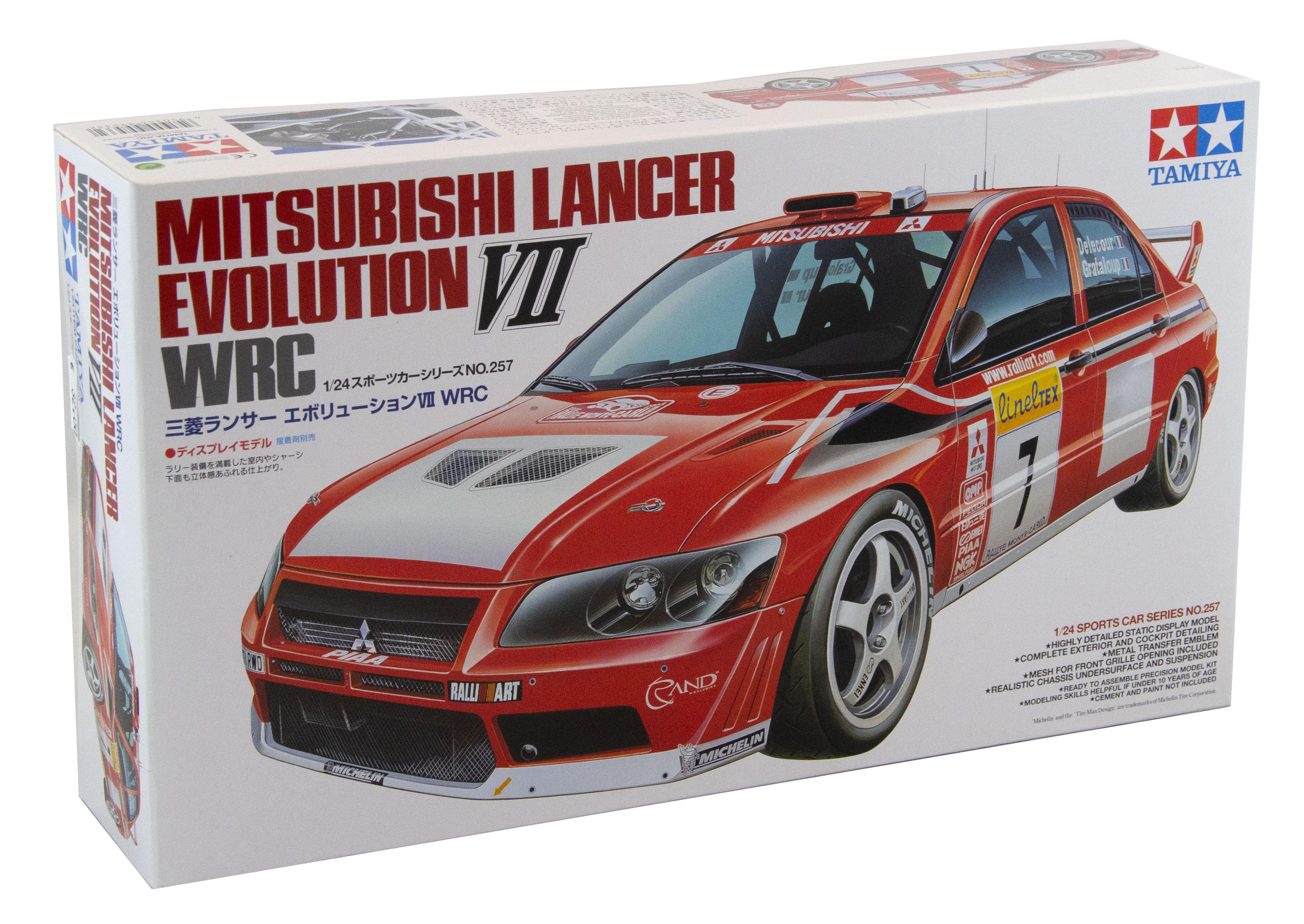 Kit Mitsubishi Lancer Evolution VII Wrc 1/24