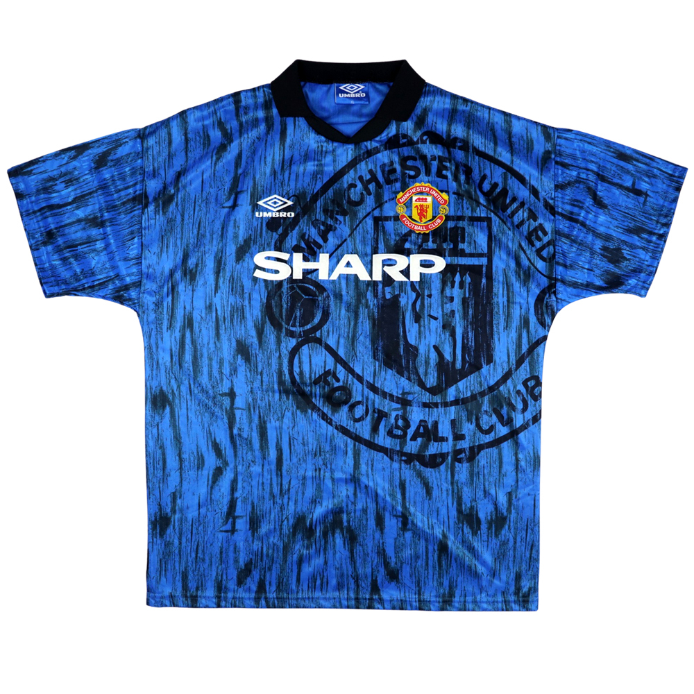 1992-93 Manchester United Maglia Away XL (Top)