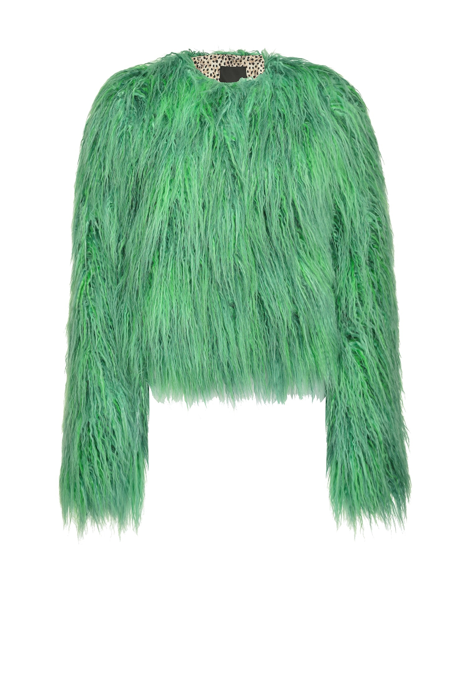 SHOPPING ON LINE PINKO CABAN FAUX FUR EFFETTO MONGOLIA IONOSFERA NEW COLLECTION WOMEN'S FALL WINTER 2020/2021