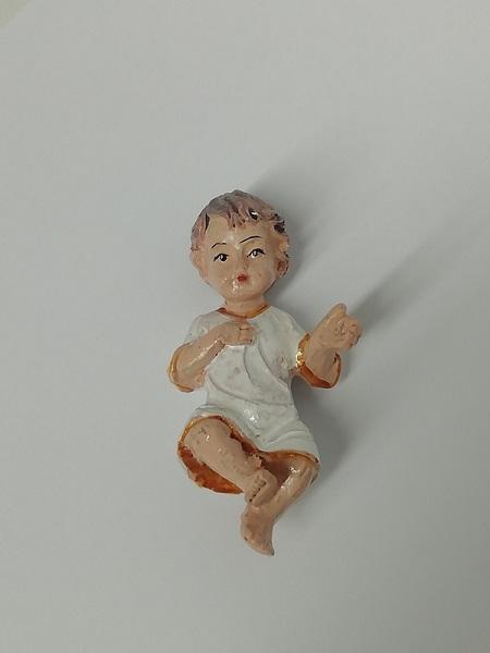 Gesù Bambino in resina cm. 6,5