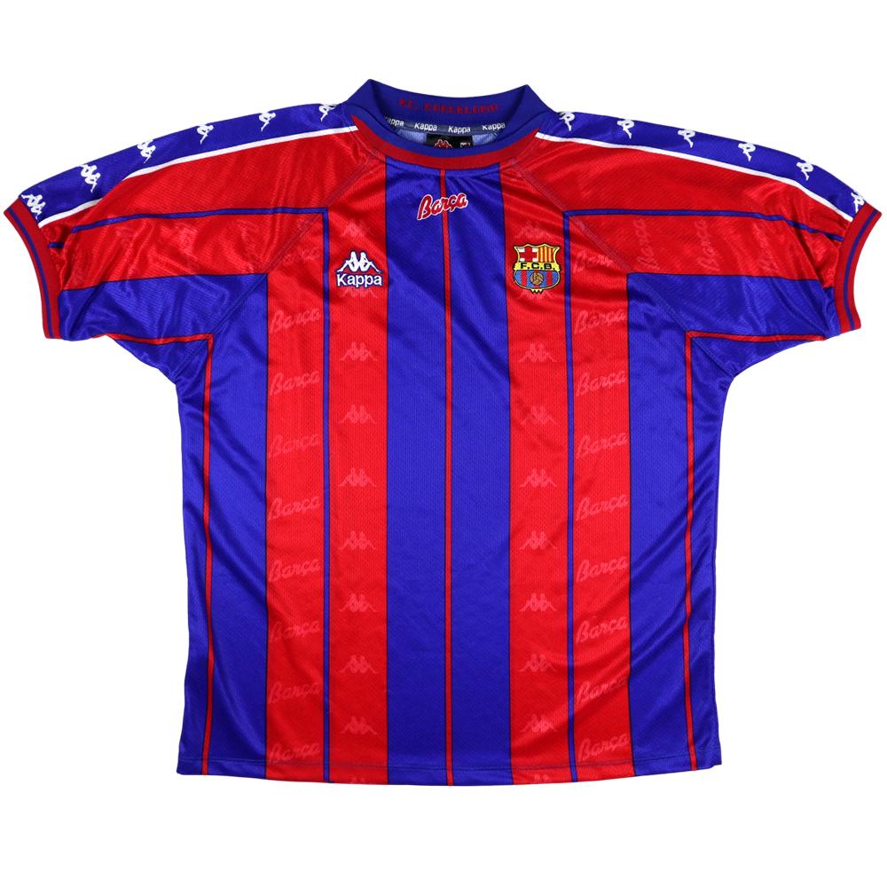 1997-98 Barcelona Maglia Home XL (Top)