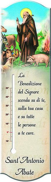 Termometro con benedizione S. Antonio Abate