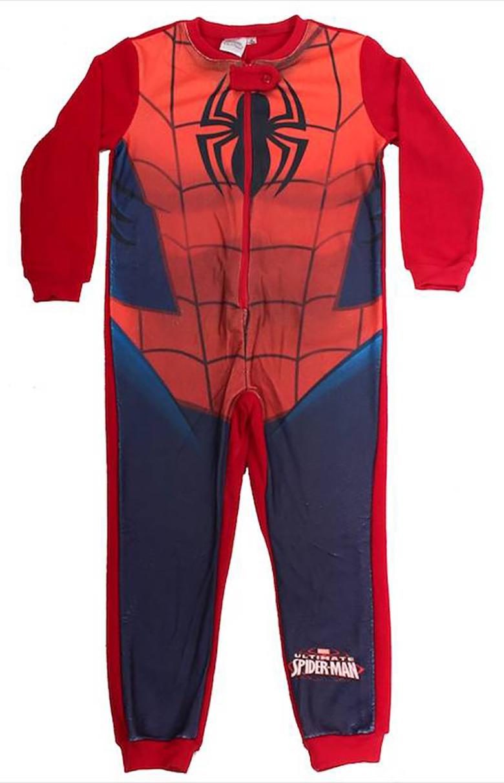 Pigiama Interno Spiderman misure 3 4 5 6 8 anni Inverno 2021