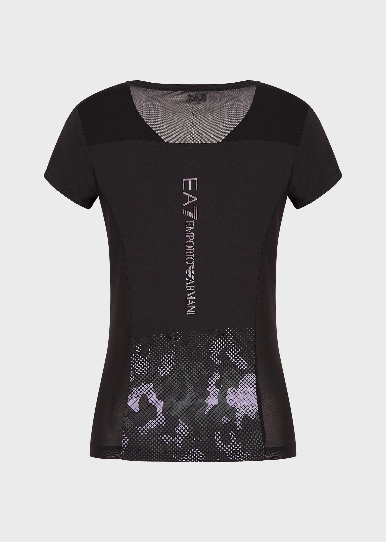 T-shirt donna ARMANI EA7 in tessuto tecnico VENTUS 7
