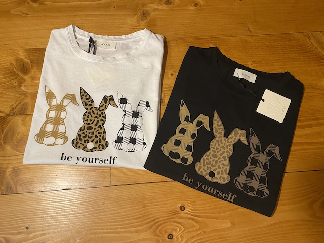 Tshirt Vicolo Stampa Be Yourself