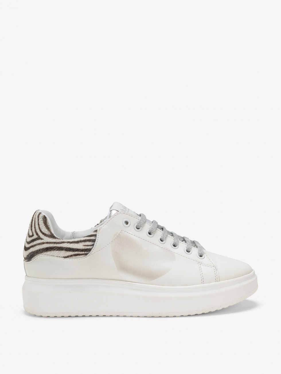 SHOPPING ON LINE NIRA RUBENS SNEAKERS ANGEL MINIZEBRINA SILVER STELLA NEW COLLECTION WOMEN'S FALL WINTER 2020/2021