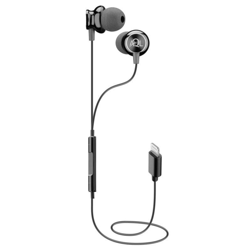 Cellularline Whirl Auricolare in-ear con connettore Lightning Nero