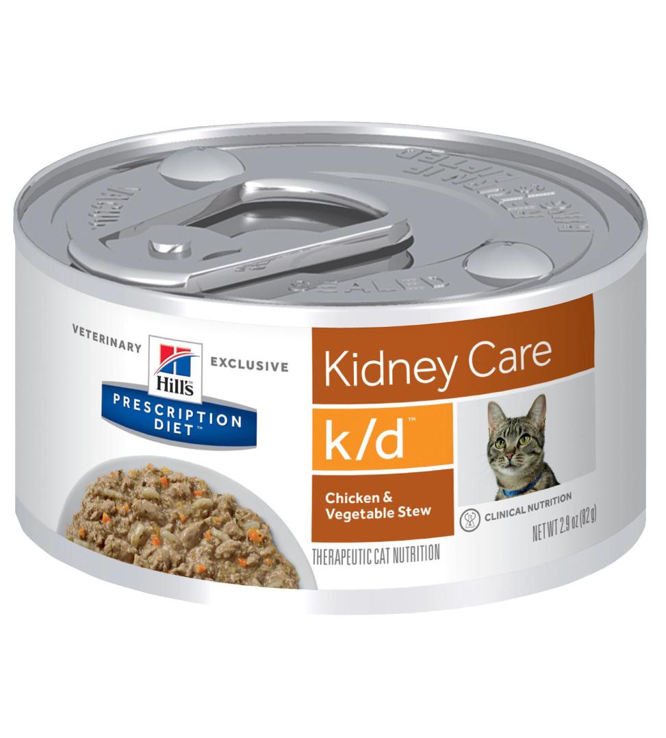 Hill's - Prescription Diet Feline - k/d Stew - 82g x 6 lattine