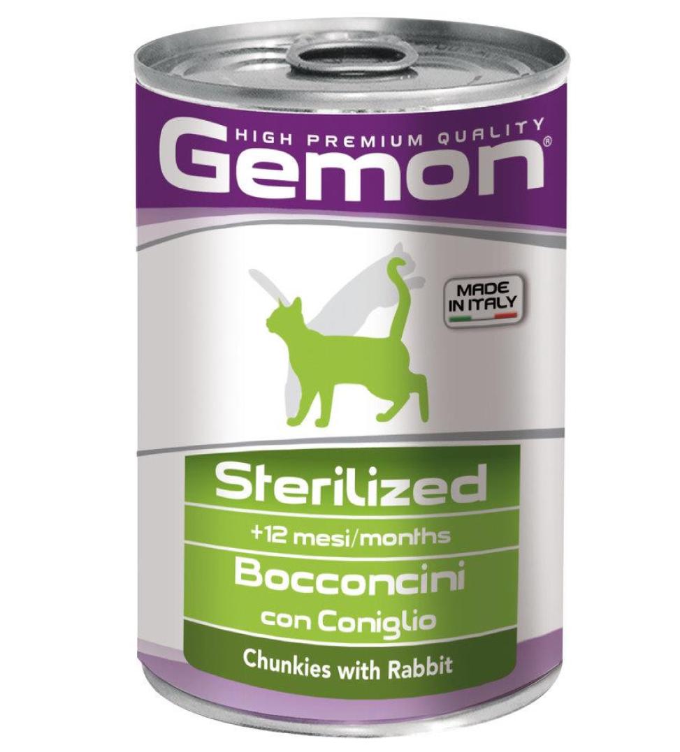 Gemon Cat - Bocconi - 415g x 24 lattine