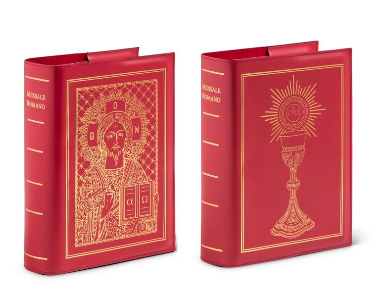 Coprilibro in vero cuoio per la nuova edizione del Messale