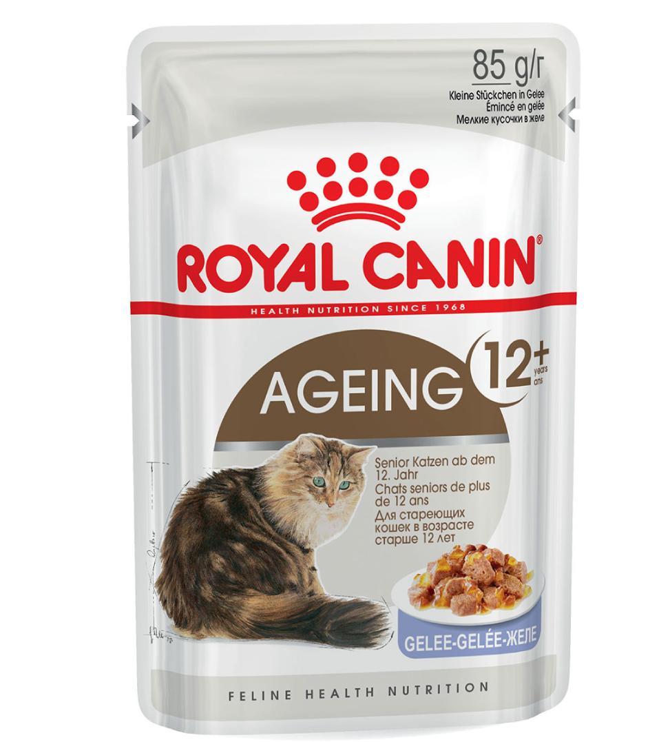 Royal Canin - Feline Health Nutrition - Ageing 12+ - BOX 12 buste 85g
