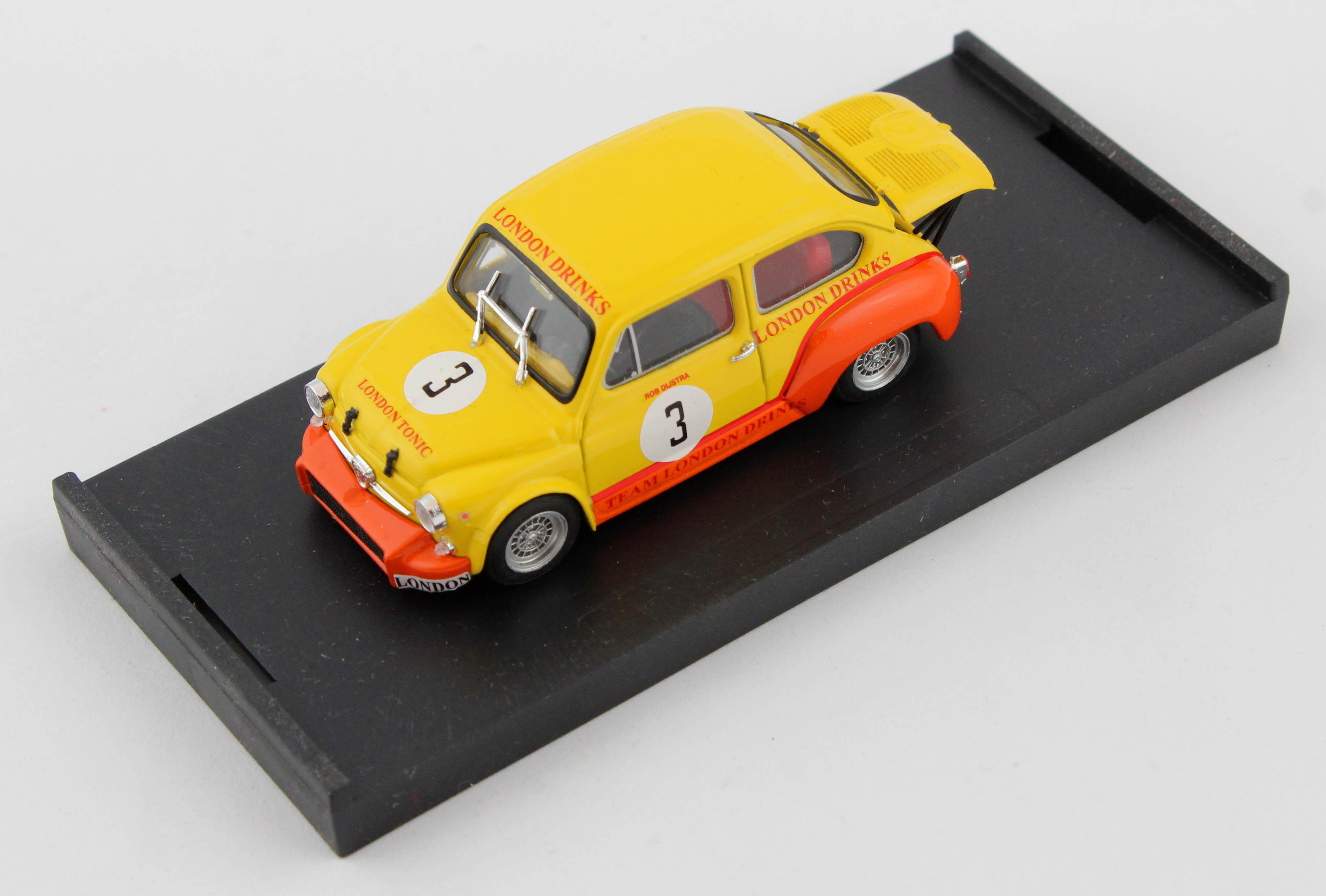 Fiat Abarth 1000 Zandvoort 1970 #3 1/43 Brumm