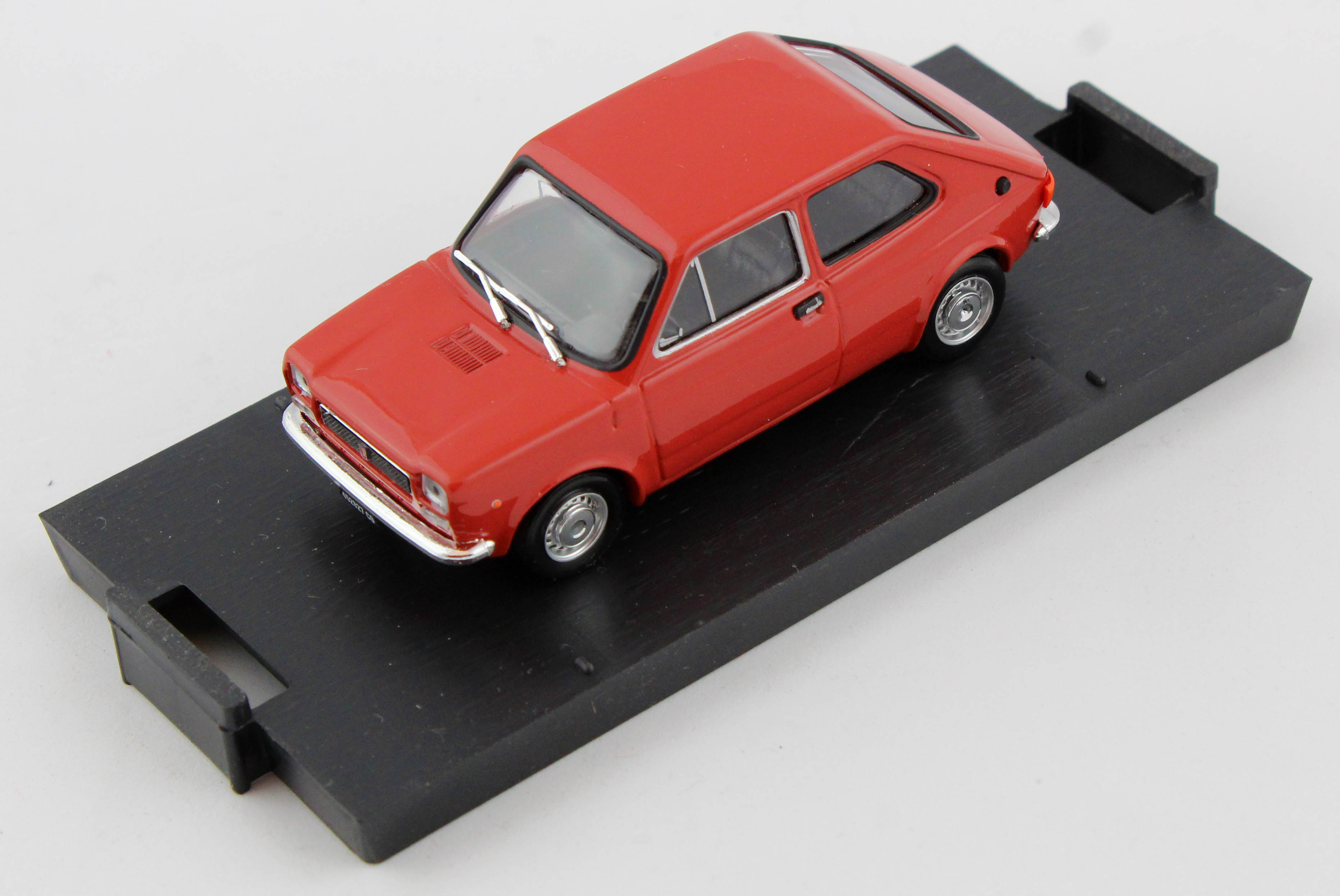 Fiat 127 1971 Coral Red 1/43 Brumm 100% Made In Italy