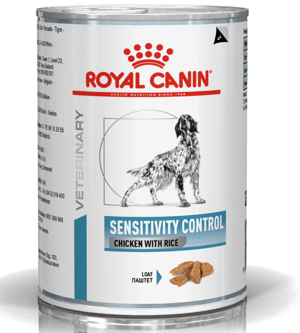 Royal Canin - Veterinary Diet Canine - Sensitivity Control - 420g x 12 lattine