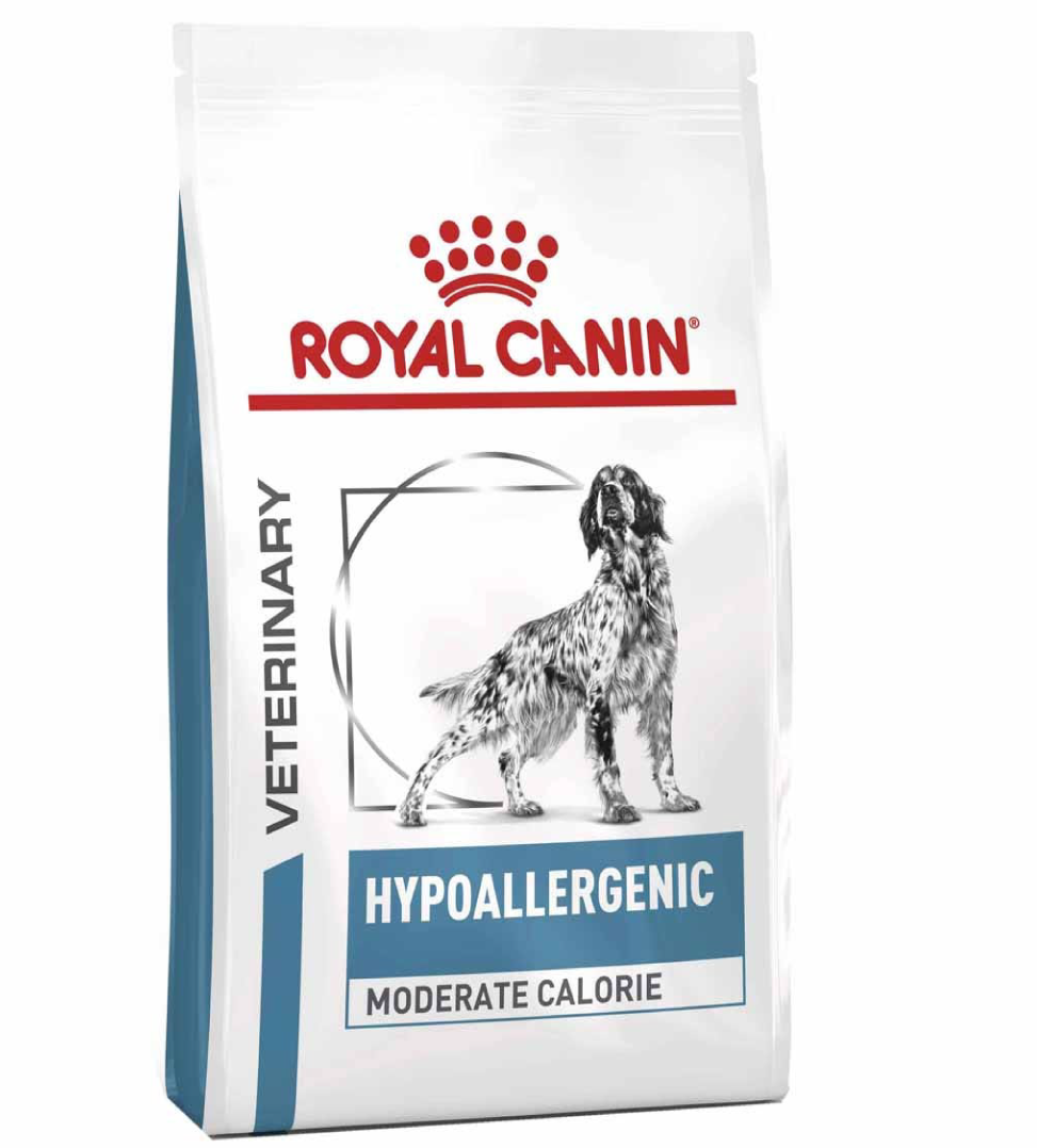 Royal Canin - Veterinary Diet Canine - Hypoallergenic Moderate Calorie - 12kg