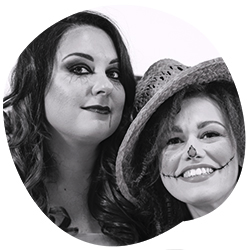 Monica e Stefania ideatrici di Say Mooom