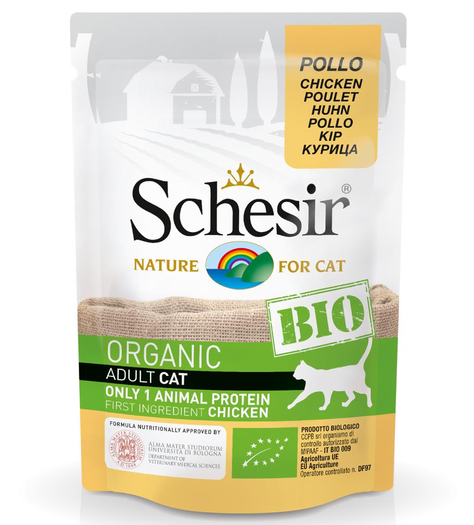 Schesir Cat - Bio - 85g x 6 buste