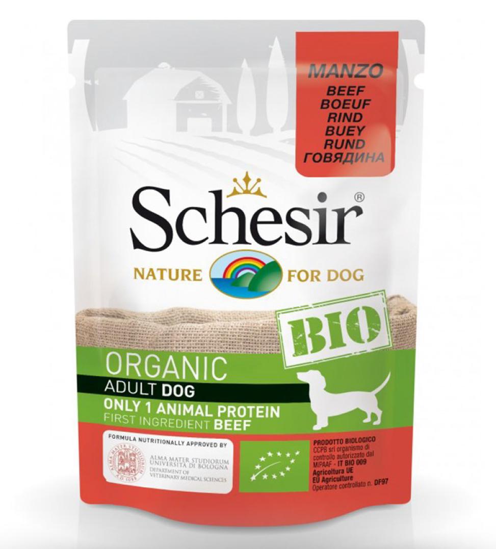 Schesir Dog - Bio - Adult - 85g x 16 buste