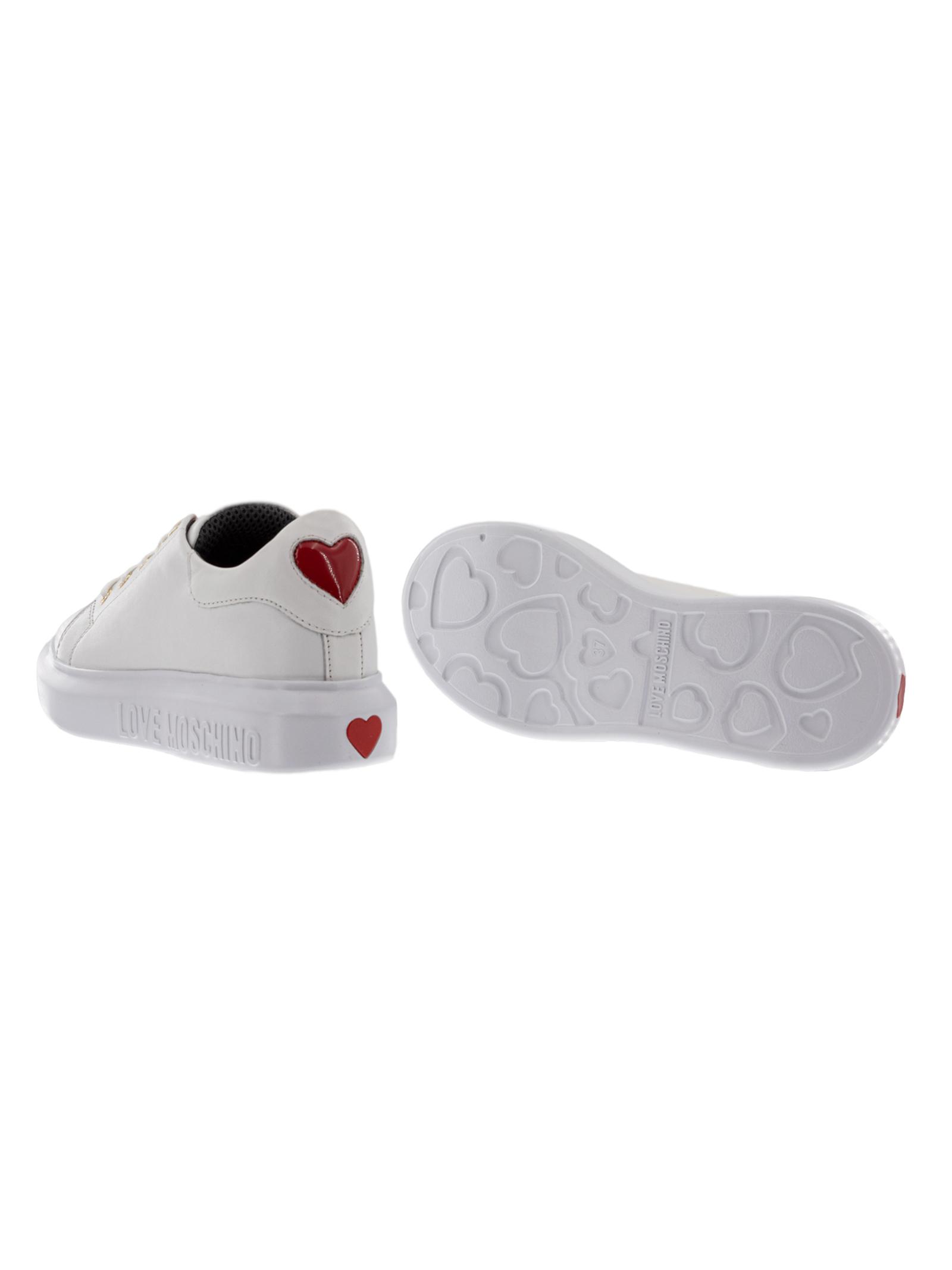 Sneakers Love Moschino JA15494G0BJA0100 Vitello bianco