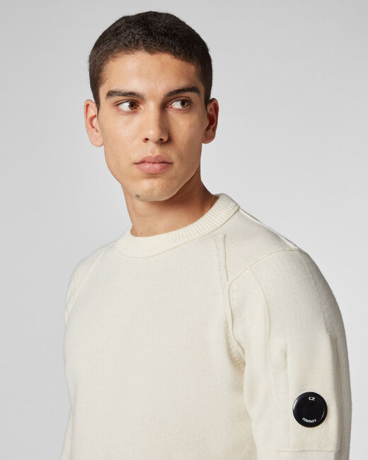 CP COMPANY SHOPPING ON LINE CP COMPANY LAMBSWOOL LENS SWEATER NEW COLLECTION MEN FALL WINTER 2020/2021