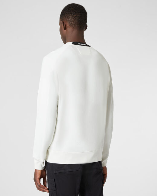 SHOPPING ON LINE CP COMPANY DIAGONAL RAISED FLEECE LENS CREW SWEAT NEW COLLECTION MEN FALL WINTER 2020/2021