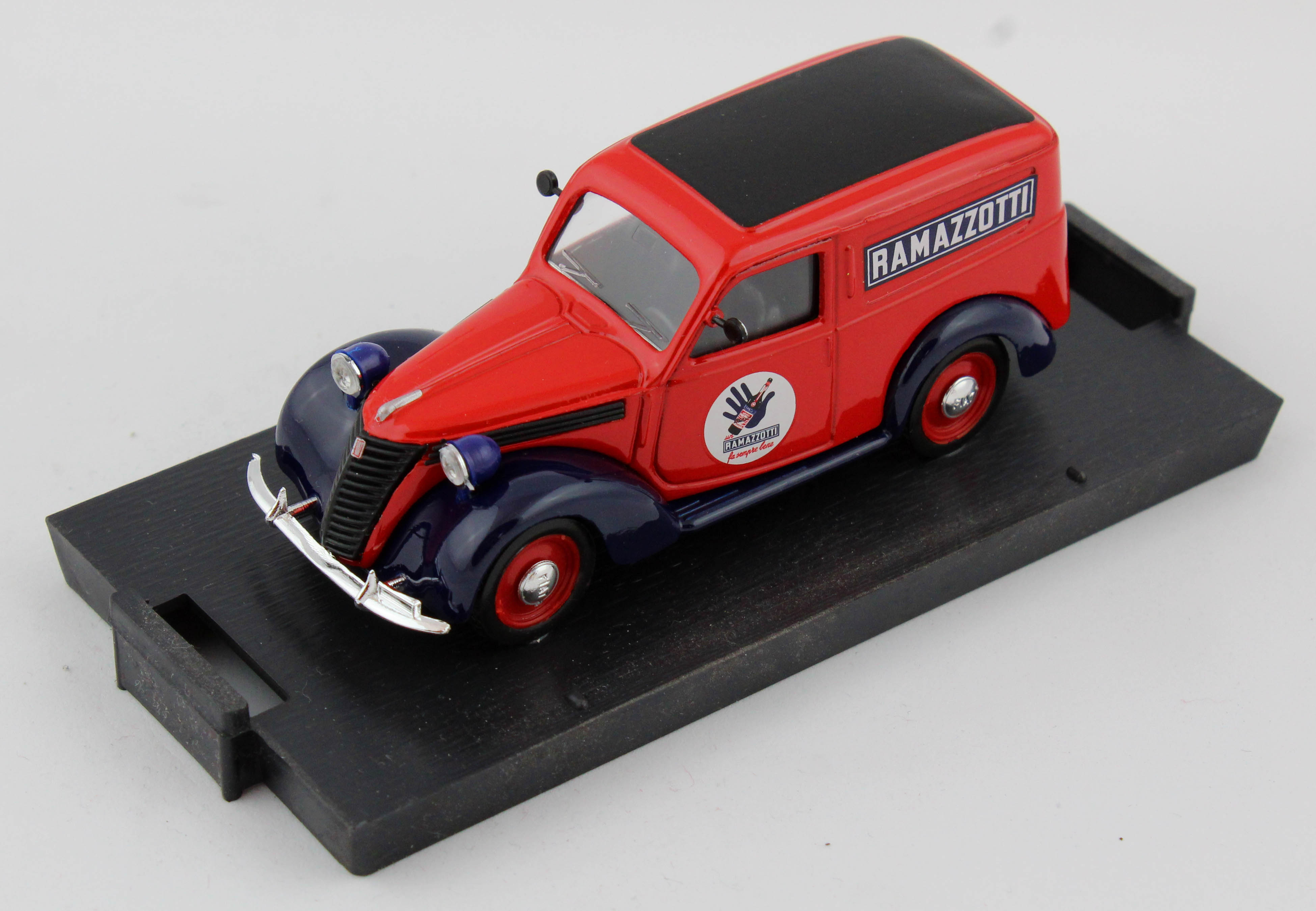 Fiat 1100e Furgone Commerciale Ramazzotti 1950 1/43 100% Made In Italy By Brumm