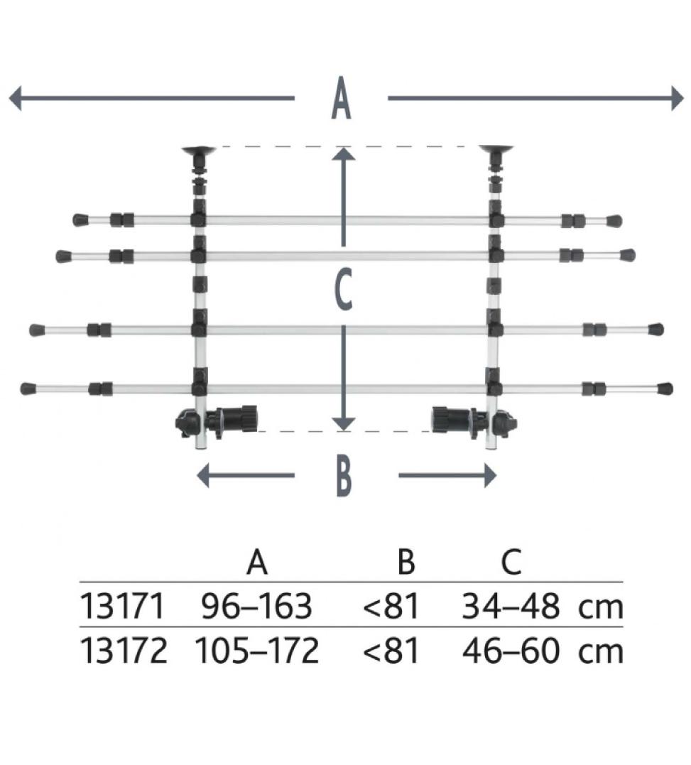 Trixie - Divisorio di Protezione - Alluminio