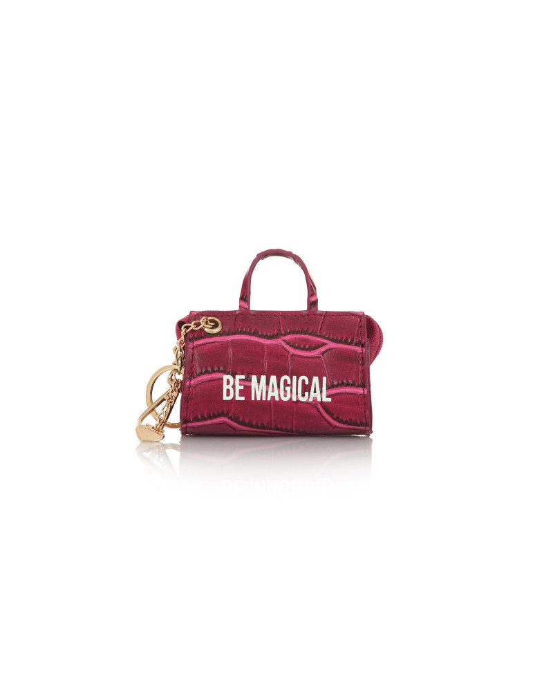 SHOPPING ON LINE LE PANDORINE TAG MINI BAG MAGICAL FUXIA NEW COLLECTION WOMEN'S FALL WINTER 2020/2021
