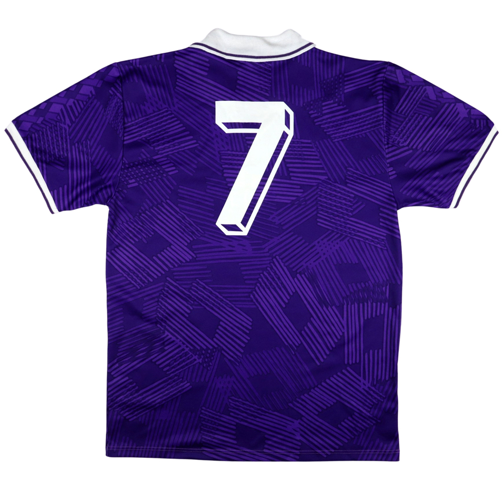1991-92 Fiorentina Maglia match worn #7 Mazinho XL (Top)