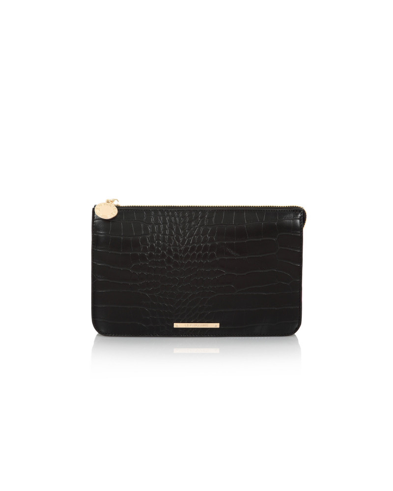 SHOPPING ON LINE LE PANDORINE POCHETTE JOE MINI CORAGGIO BLACK NEW COLLECTION WOMEN'S FALL WINTER 2020/2021