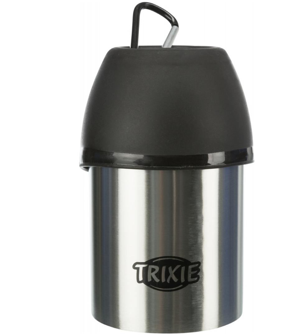 Trixie - Distributore d'acqua in acciaio - 300ml