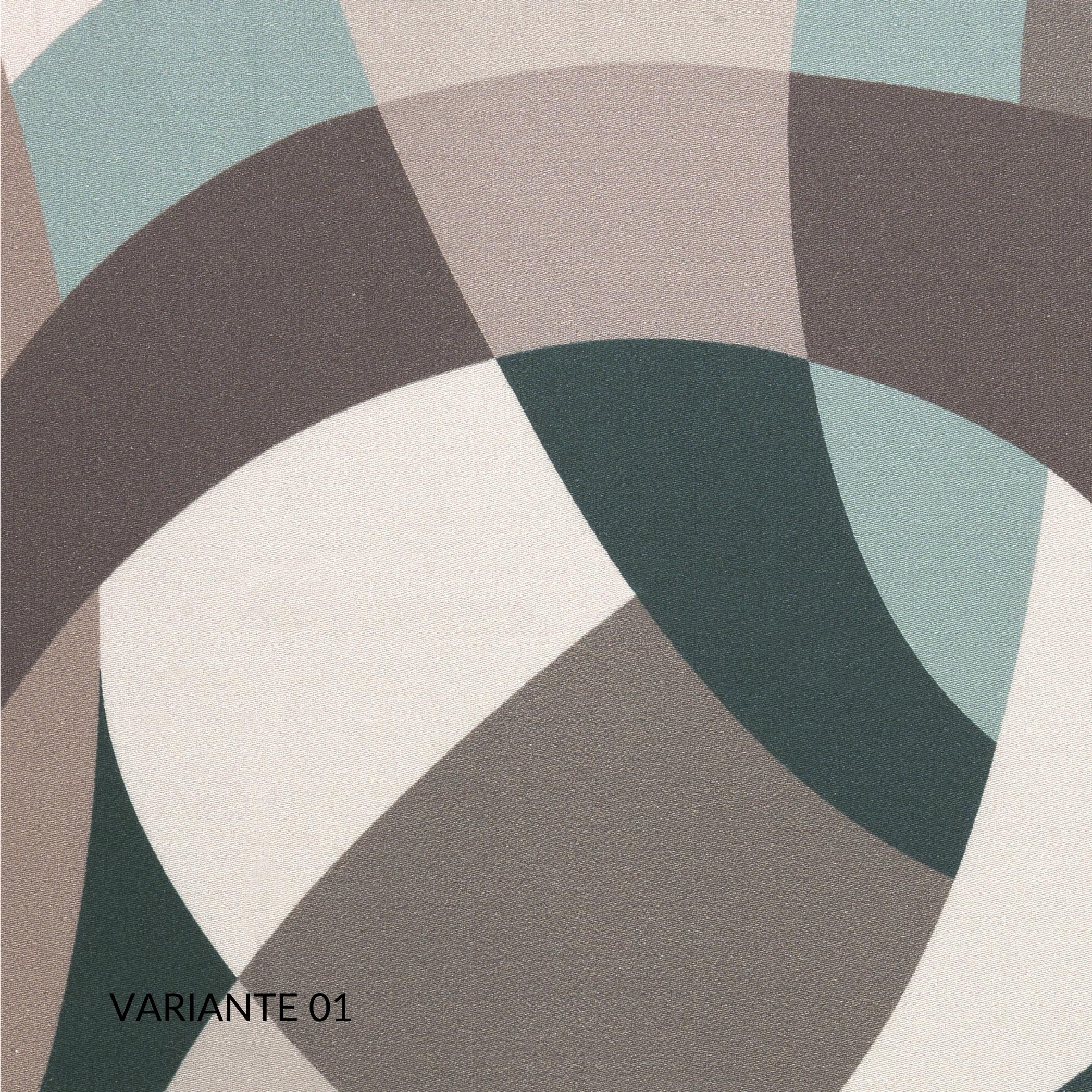 Copripiumino Matrimoniale 255x205 cm con 2 Fodere per Cuscini Letto 50x80, Duvet con Rivestimento Fantasia Digitale, Parure 100% Raso Puro Cotone | EDAM